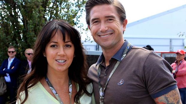 Kewell customers ... Harry and wife Sheree Murphy.