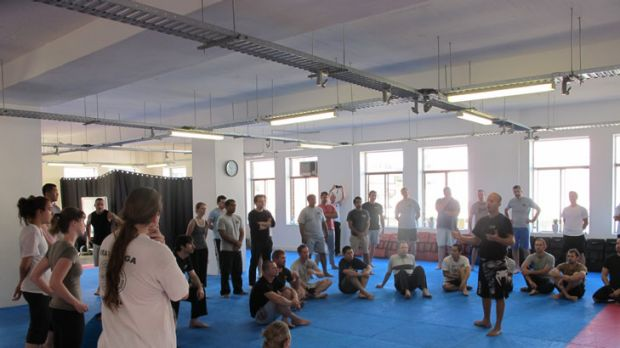 """The idea is to not only be able to teach krav maga but also to teach more people to become krav maga instructors and to ..."