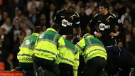 Football star collapses on pitch (Video Thumbnail)
