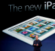 Big seller ... Tim Cook launches the new iPad.