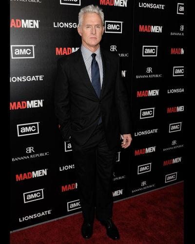 "John Slattery arrives at the Premiere of AMC's ""Mad Men"" Season 5."