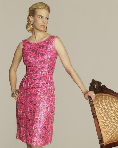 "January Jones appears in character as Betty Francis from the series ""Mad Men""."