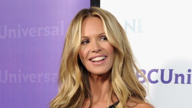 All natural ... Elle Macpherson keeps in shape with exercise.