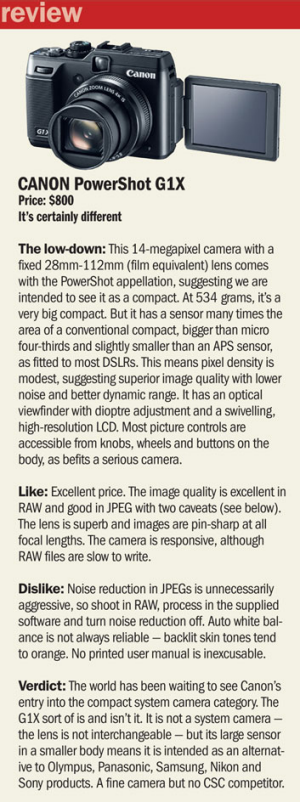 Canon review.