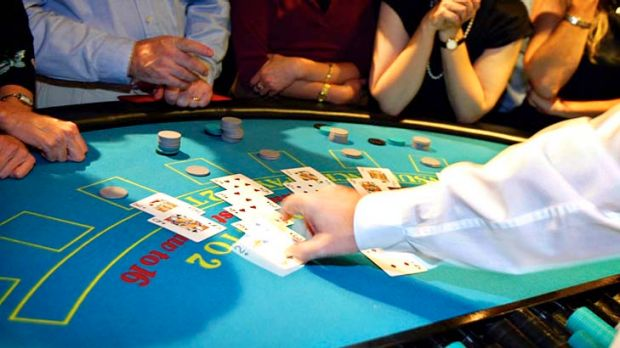 Rule changes at the Crown Casino mean the house does not lose when it has a hand of 22 in Blackjack Plus.