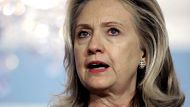 Clinton calls UN Syria move a 'positive step' (Video Thumbnail)