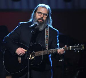 Earle at the Grammys.