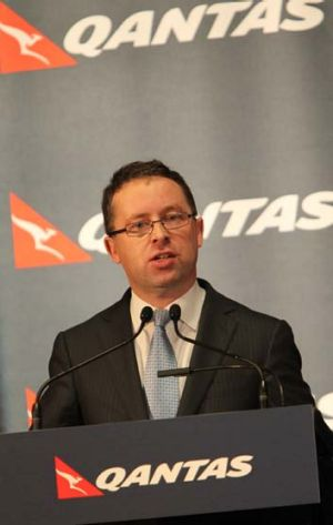 """""""Senators questioned Qantas's chief executive, Alan Joyce, at a hearing shortly after his controversial decision in late ..."""