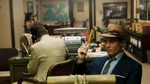<i>The Rum Diary</i> radiates a pure, unlikely happiness.