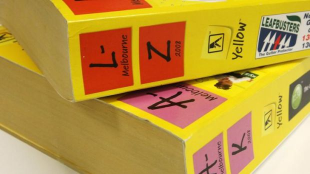 Sensis, the division of Telstra in charge of phone books, prints 100 different kinds in Australia: about 15 million ...