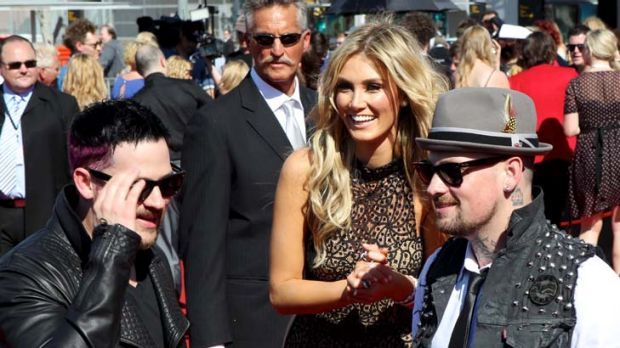 Speculation ... Delta Goodrem and Joel Madden.