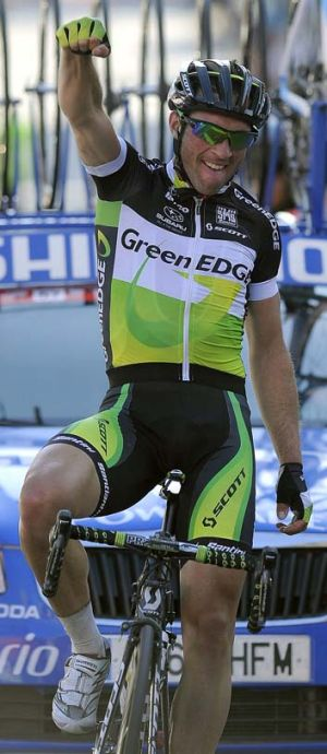 Michael Albasini is in the running for the overall honours.