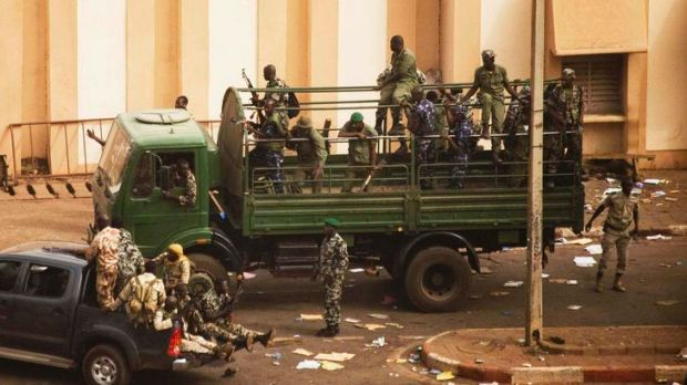 Soldiers and security in Bamako, Mali. The problems are a blow to the reputation of West Africa, which has become a hot ...