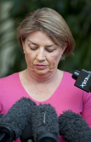 """Bligh's government suffered because of broken promises and a perception of incompetency."""