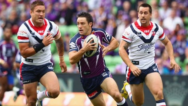 Highly valued ... Melbourne's Cooper Cronk.