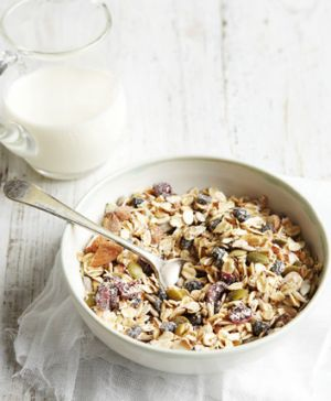 """""""I am fed up with muesli that is full of dried fruit smothered in sulphur dioxide and dusty stuff. Muesli should be 100 ..."""
