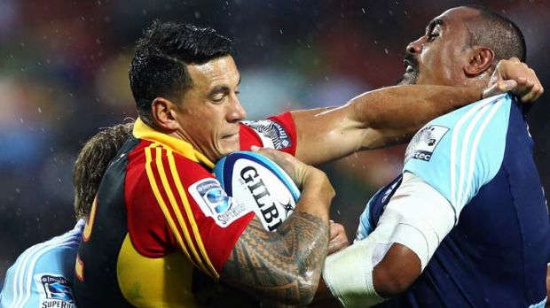 Danger man … Sonny Bill Williams of the Chiefs.