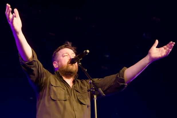 Mosh Pit: Elbow pack out the Hordern Pavillion. Guy Garvey.