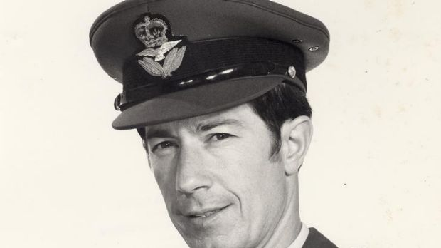 In war and peace ... Lynton Winn became the youngest peacetime RAAF group captain.