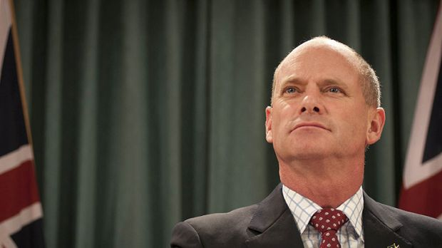 New Queensland Premier Campbell Newman.