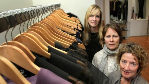 Industry stalwarts (from left) Lisa Barron, Louise Lorkin (Melbourne Made) and Jenny Layton (The Ark Clothing) believe ...