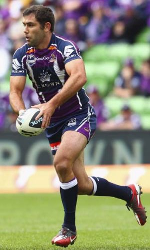 Late show ... Cameron Smith's Storm get a bad run on free TV.