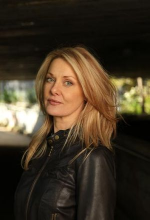 Author Anna Funder photographed in Glebe.