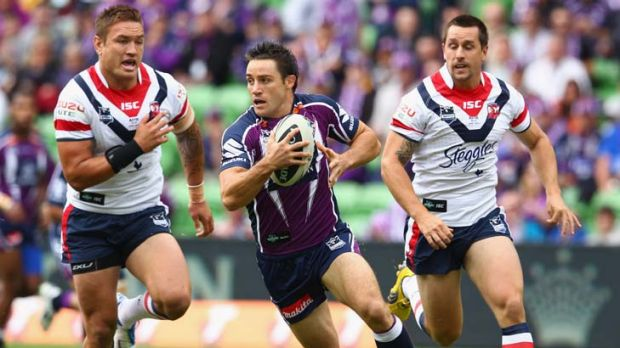 Staying down south ... Cooper Cronk.