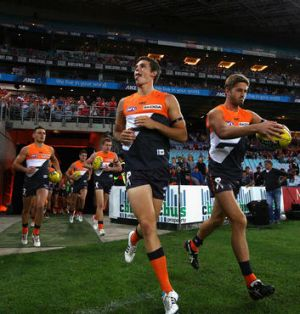 Despite losing on debut, GWS is claiming an off-field victory.