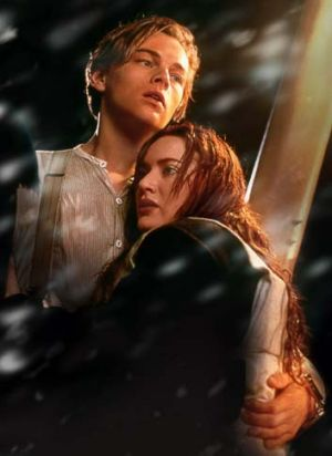 At their best … Leonardo DiCaprio and Kate Winslet.