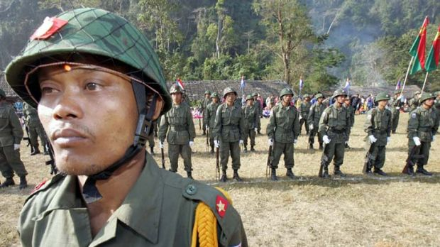 """""""Even Burma's notoriously authoritarian military regime is warming to the U.S."""""""