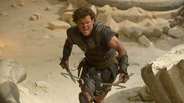 Ancient bed-head … Sam Worthington as reluctant hero Perseus.