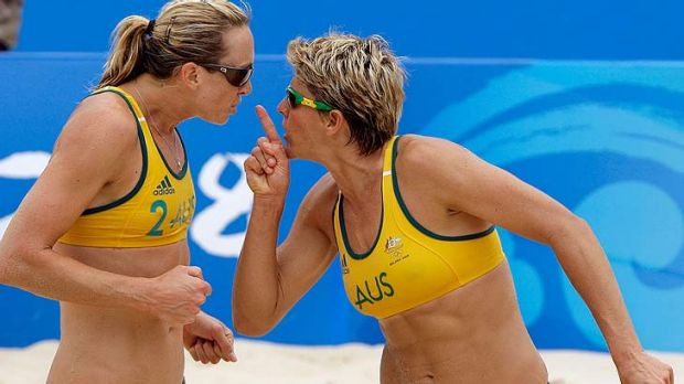 Teeny-weeny bikinis ... Female volleyballers have been given permission to cover up, but some say they don't want to.