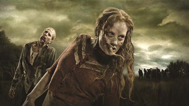 Infectious … <em>The Walking Dead's</em> popularity has helped solidify zombies' pop cultural status.