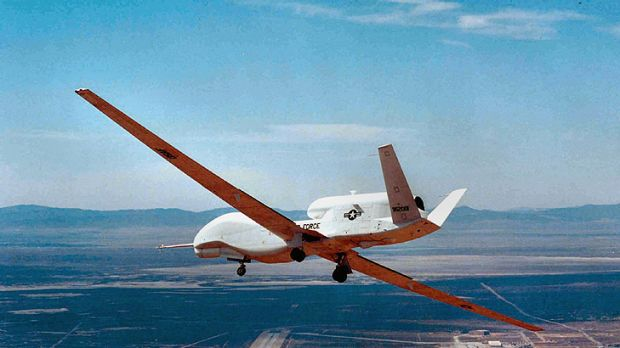Mr Smith played down speculation the US could operate long-range Global Hawk drones the Cocos Islands.