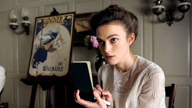 Keira Knightley plays the riskily intense Sabina Spielrein in David Cronenberg's A Dangerous Method.