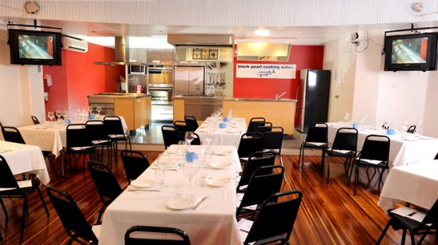 The Black Pearl Epicure cooking school.