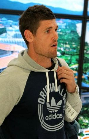 Pack your bags: Sydney FC's Liam Reddy.