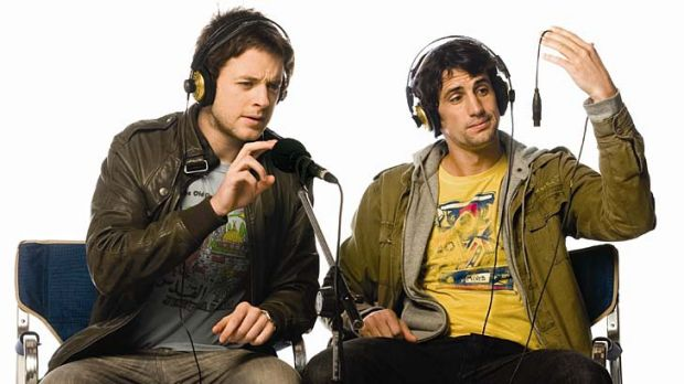 Radio stars Hamish and Andy could be coming to you via the internet.