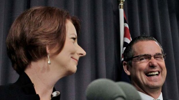 """""""Yesterday Australians were given evidence that the beast may exist."""" The Prime Minister, Julia Gillard, and the ..."""