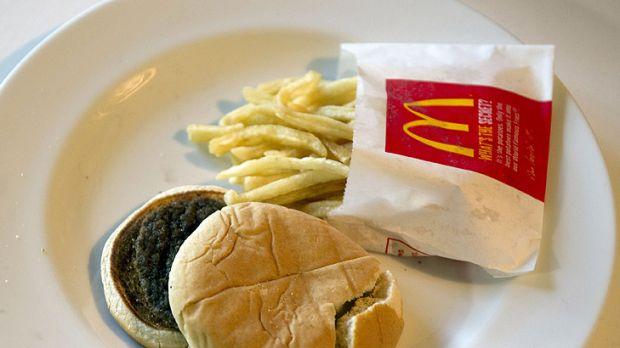 Changing the perception ... The fast food chain famously copped flak in 2010 after artist Sally Davies left a Happy Meal ...