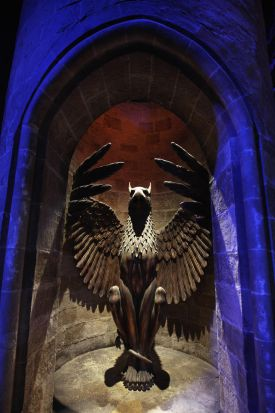 A general view of the entrance to Professor Dumbledore's office. March 23, 2012.