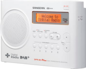 Sangean DPR-69 ... ordinary sound for the price.