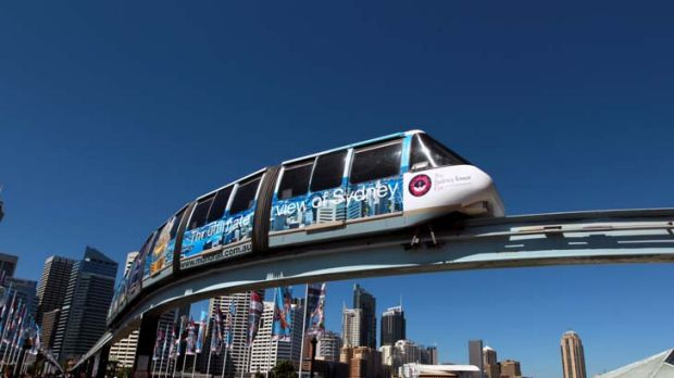 End of the line … the demise of Sydney's monorail will most likely lead to a shopping precinct upgrade.