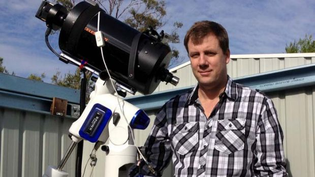 Terry Lovejoy, who discovered comet Lovejoy that survived a death dive
