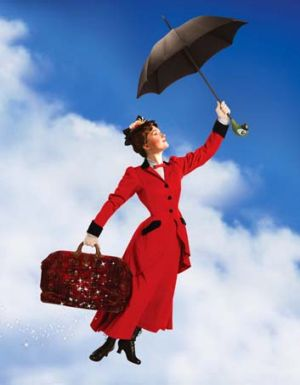 Spoonful of sugar … Mary Poppins was a magical childcare fix.