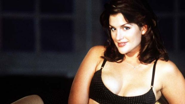 """""""One of the great beauties'' ... Kate Fischer."""