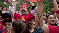 Joy in the streets for Suu Kyi supporters  (Video Thumbnail)
