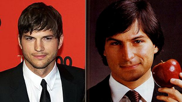Lookalikes, but can Ashton Kutcher do justice to Steve Jobs?