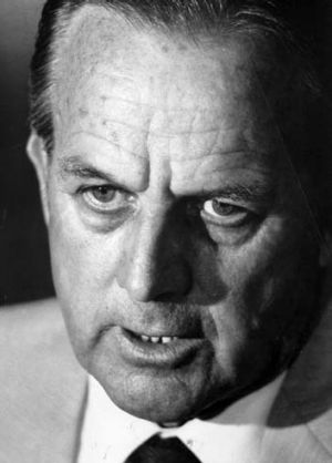 A significant political player ... Lionel Bowen as acting prime minister in 1984.